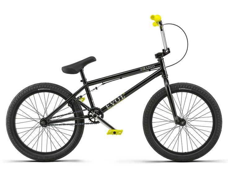 "Radio Bikes ""Evol"" 2018 BMX Bike - Glossy Black 