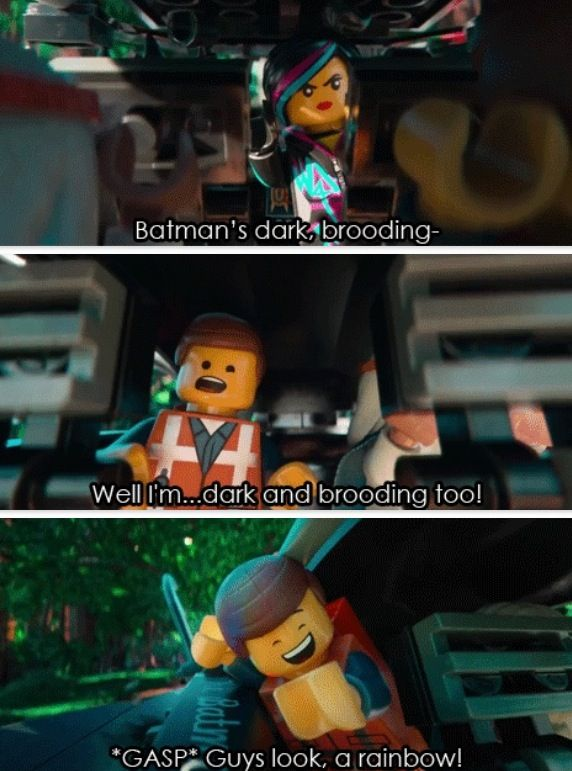 Funny Lego Movie Quotes: I Loved The Lego Movie