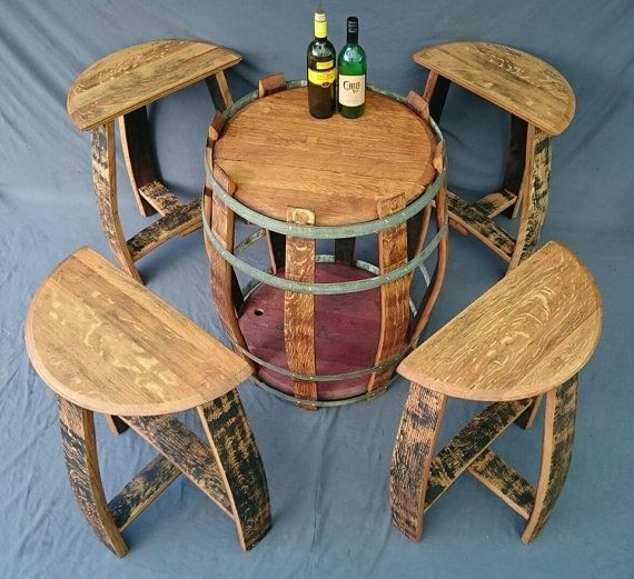 Best 25 wine barrel bar stools ideas on pinterest wine - Barriles de vino ...