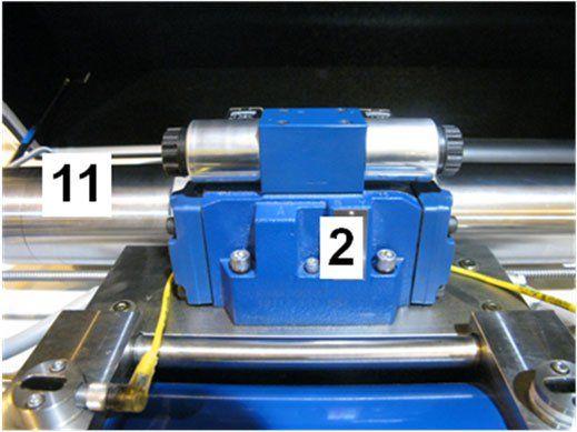 Parts Of The Waterjet Intensifier Pump Directional Control Valves Water Jet Pumps University