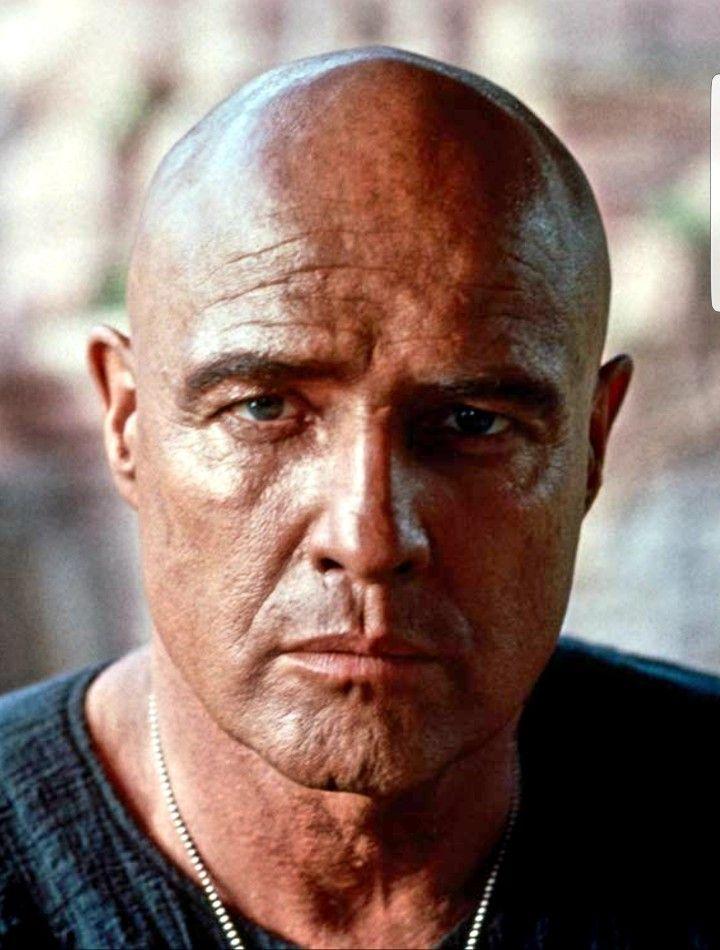 Marlon Brando In Apocalypse Now 1979 Marlon Brando
