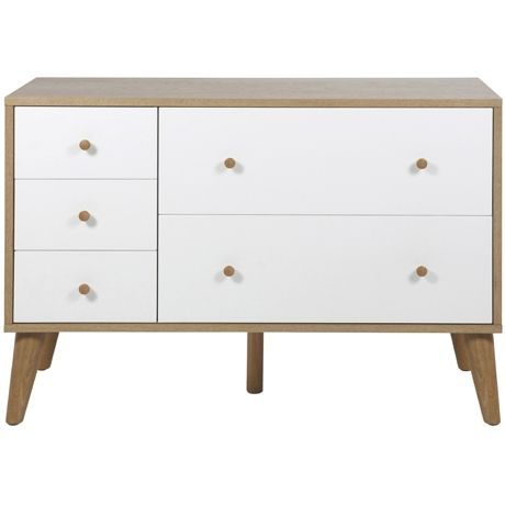 Oslo 5 Drawer Dresser | Freedom Furniture and Homewares