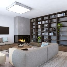 Moderné obývacie izby inspirace - Rodinný dom v Moste pri Bratislave | FAVI.sk