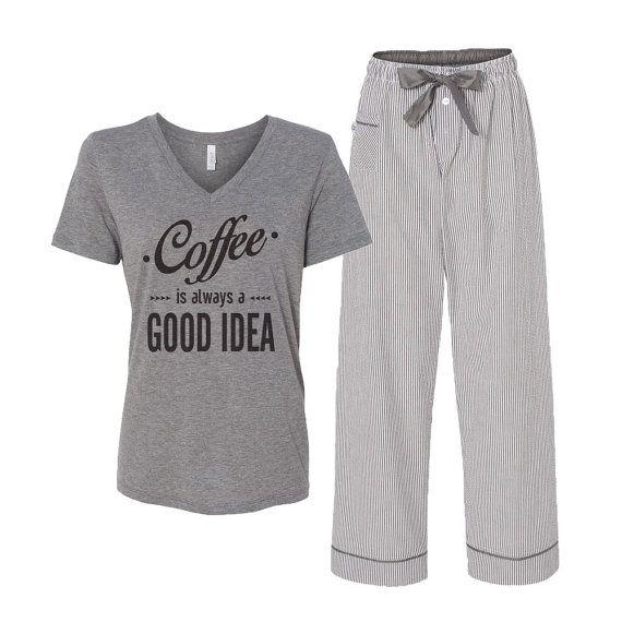 Sz Small ;) - Women's Pajama Set // 2 Pcs. Pajamas for Women // by LatteLifeInc