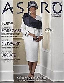 Picture of women's ethnic clothing from ASHRO Lifestyle catalog