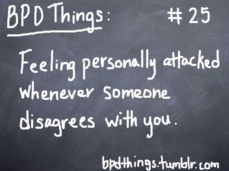BPD Things ( im beginning to think more and more that I have this )