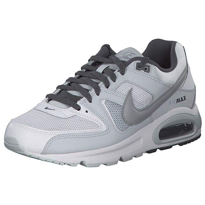 Nike Air Max Command Herren Sneaker Lauf Schuhe weißgrau