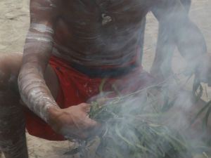 The smoking ceremony is one of the most significant ancient ceremonies performed by Aboriginal and Torres Strait Islander people.