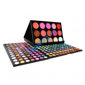 Trusa 183 culori Farduri + Blush - http://exomag.ro/Truse-de-machiaj-Blush-farduri-eyeshadow-eyeliner-lipgloss/trusa-machiaj-profesionala-183-culori-eyeshadow-plus-blush