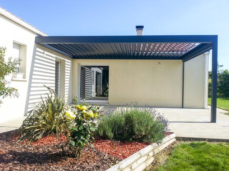as 25 melhores ideias de pergola lames orientables no pinterest jardins no telhado p tio do. Black Bedroom Furniture Sets. Home Design Ideas