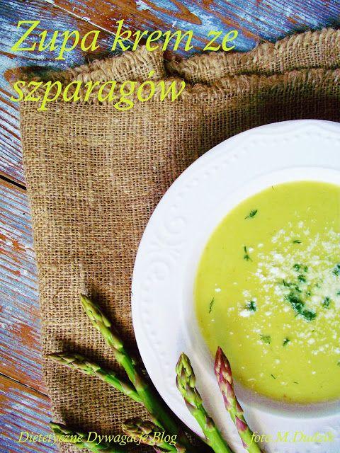 ***dietetyczne dywagacje*** : Zupa krem ze szparagów
