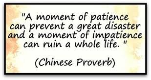 Image result for impatience quotes