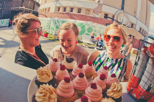 Cupcake time, 2011.