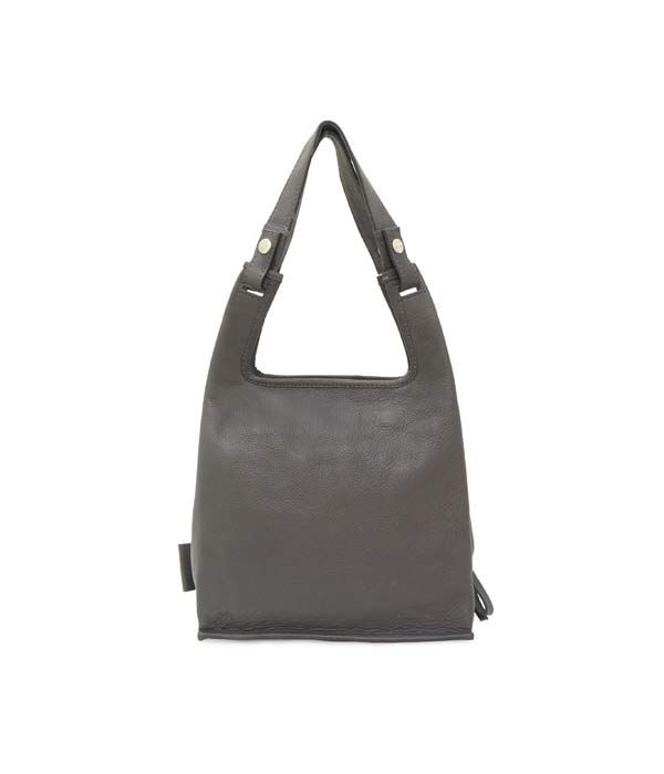 Supermarket Bag S Grey | Lumi Accessories  www.shoplumi.com