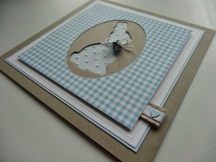 """Jenny's Papierwelt: Karte ~ """"Chocolate Bunny"""" ~"""