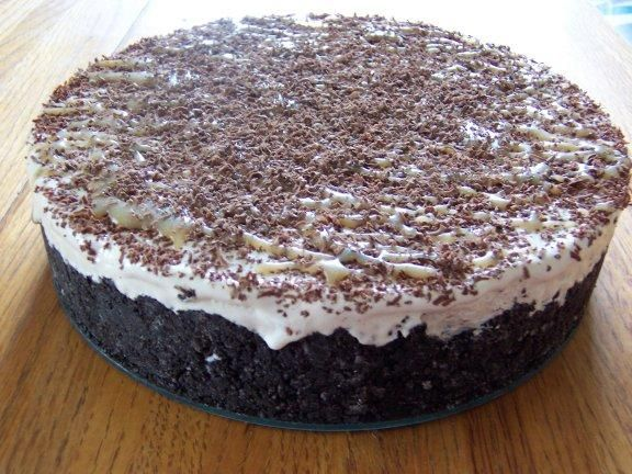 Marshmallow-Coffee Torte