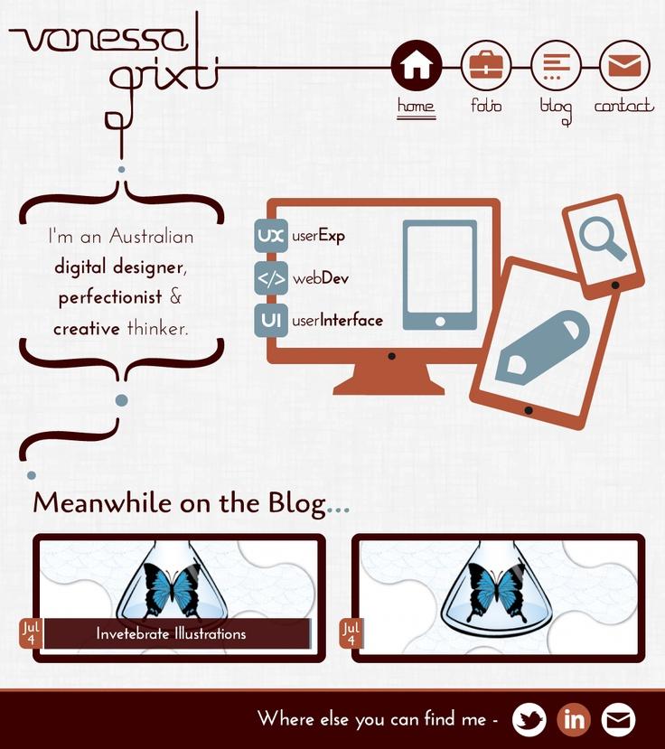 My website design #webdesign