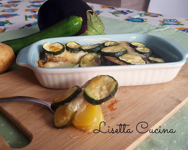 Tortino di verdure, formaggio e prosciutto  http://blog.giallozafferano.it/lisettacucina/tortino-verdure-formaggio-prosciutto/