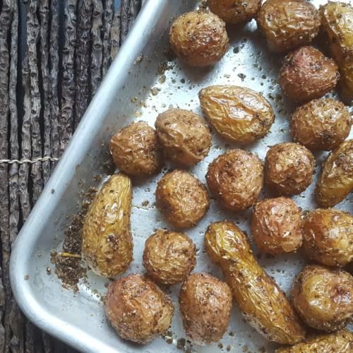 Roasted New Potatoes with Fennel Pollen