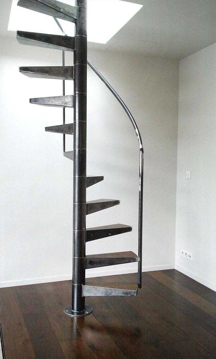 Les Rampes Ehi Escalier Helicoidal Industriel Cuisine