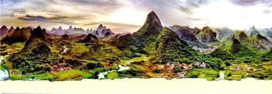 Kalender Meja Jumbo 2017 Pemandangan Alam Dunia