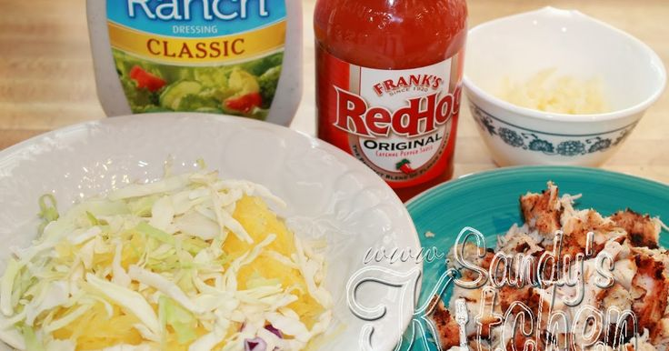 Here is a simple dish if you enjoy eating Frank's hot sauce on EVERYTHING!     My hubby is a huge fan of Frank's so he really enjoyed this...