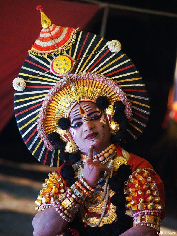 yakshagana face painting Google Search Yakshagana