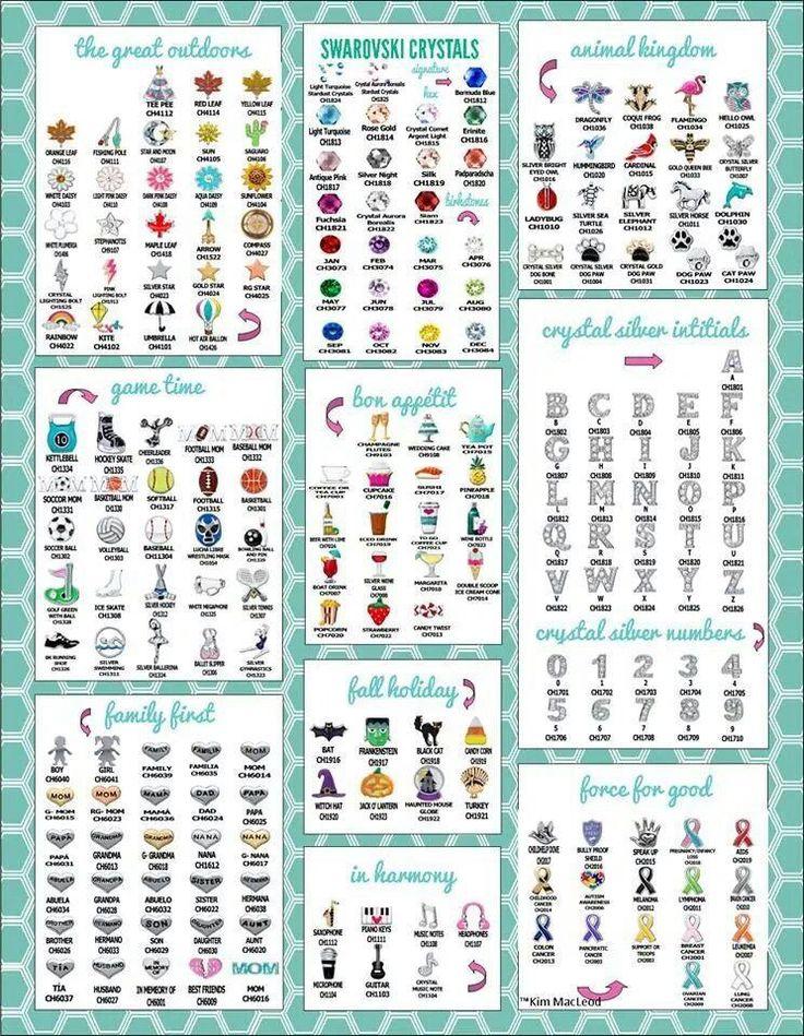 The charm collections... www.tammyhaddix.origamiowl.com tammy.haddix@gmail.com 513-607-5562