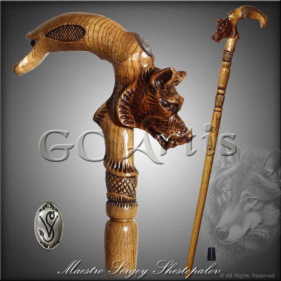 Wooden Cane Designs