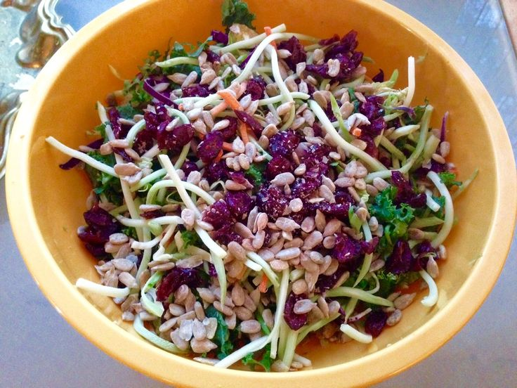 image link: you can make Trader Joe's Broccoli and Kale Salad at home