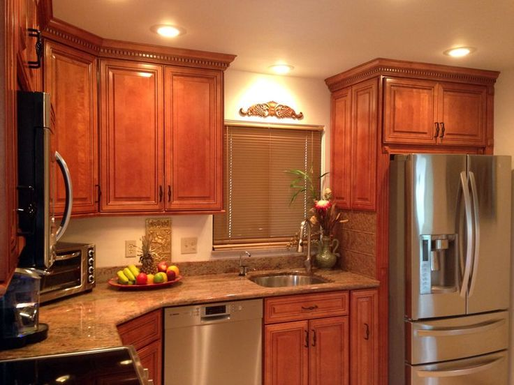 Kitchen Cabinet Discounts Rta Cabinet Above Refrigerator