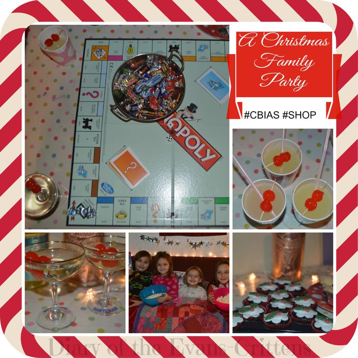 Festive family Christmas party ideas on the blog:  http://www.evans-crittens.com/2014/12/a-festive-family-christmas-party.html #ad