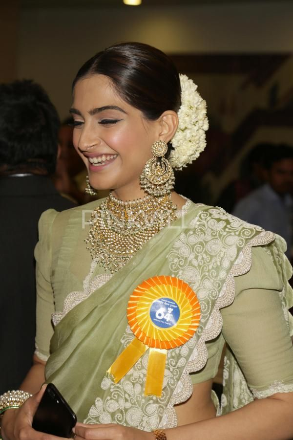 Sonam Kapoor attended the 64th National Film Awards ceremony in the capital city's Vigyan Bhavanalong with near and dear ones.It was all about cele...