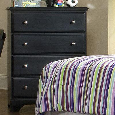 Carolina Furniture Works, Inc. Midnight 4 Drawer Chest