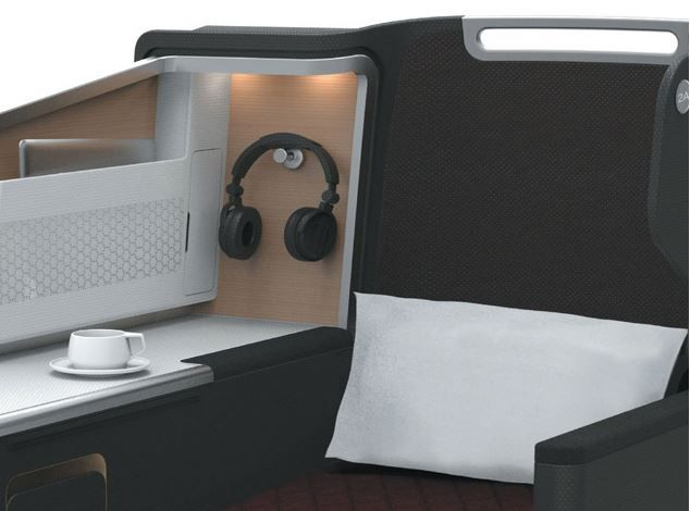 #Qantas trials new third-gen #business class seat. Enjoy cheapest tickets in wholesale price contact travel agency license Victoria in Australia.
