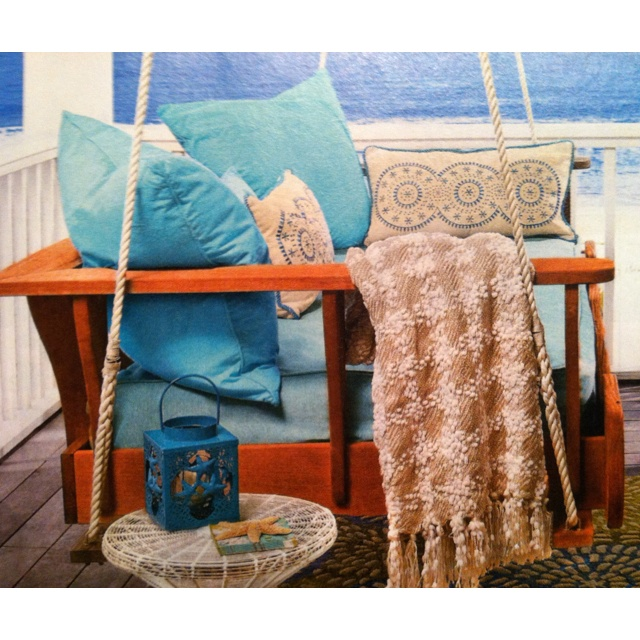 "#springintothedream  ""In My Dreams"" Porches:  Porch Swing.  I can swing into the dream with a view of the sea ..."