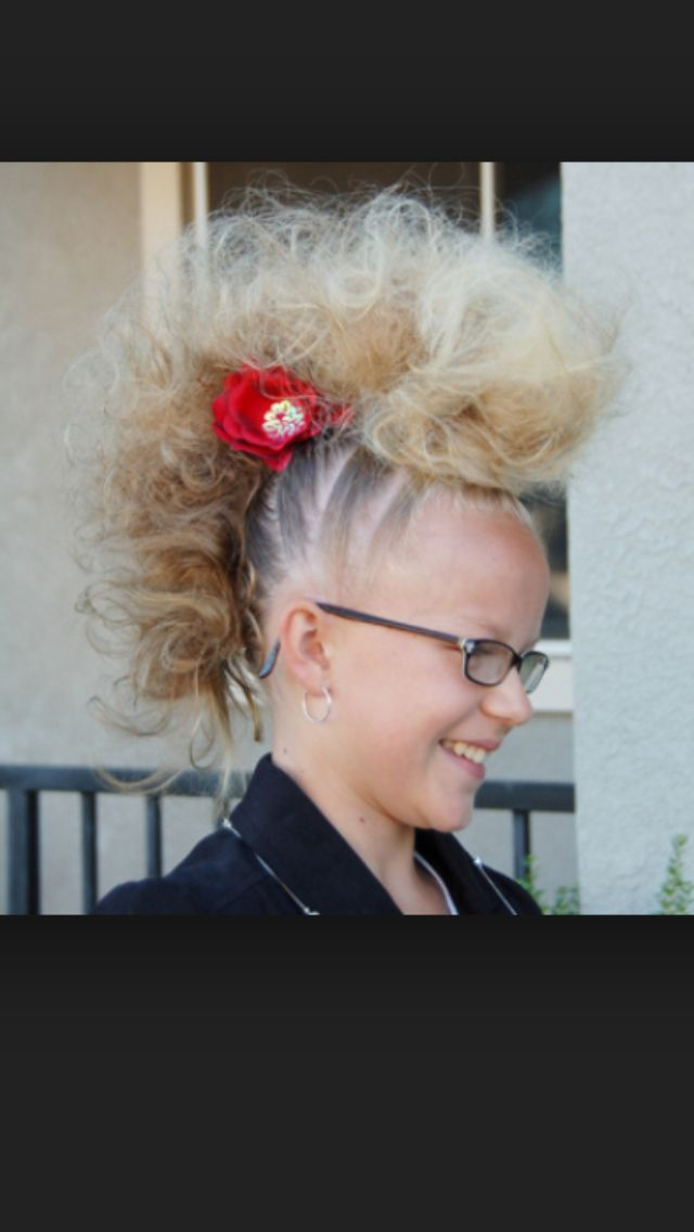 22 Best Crazy Hair Images On Pinterest Crappy Day Kids