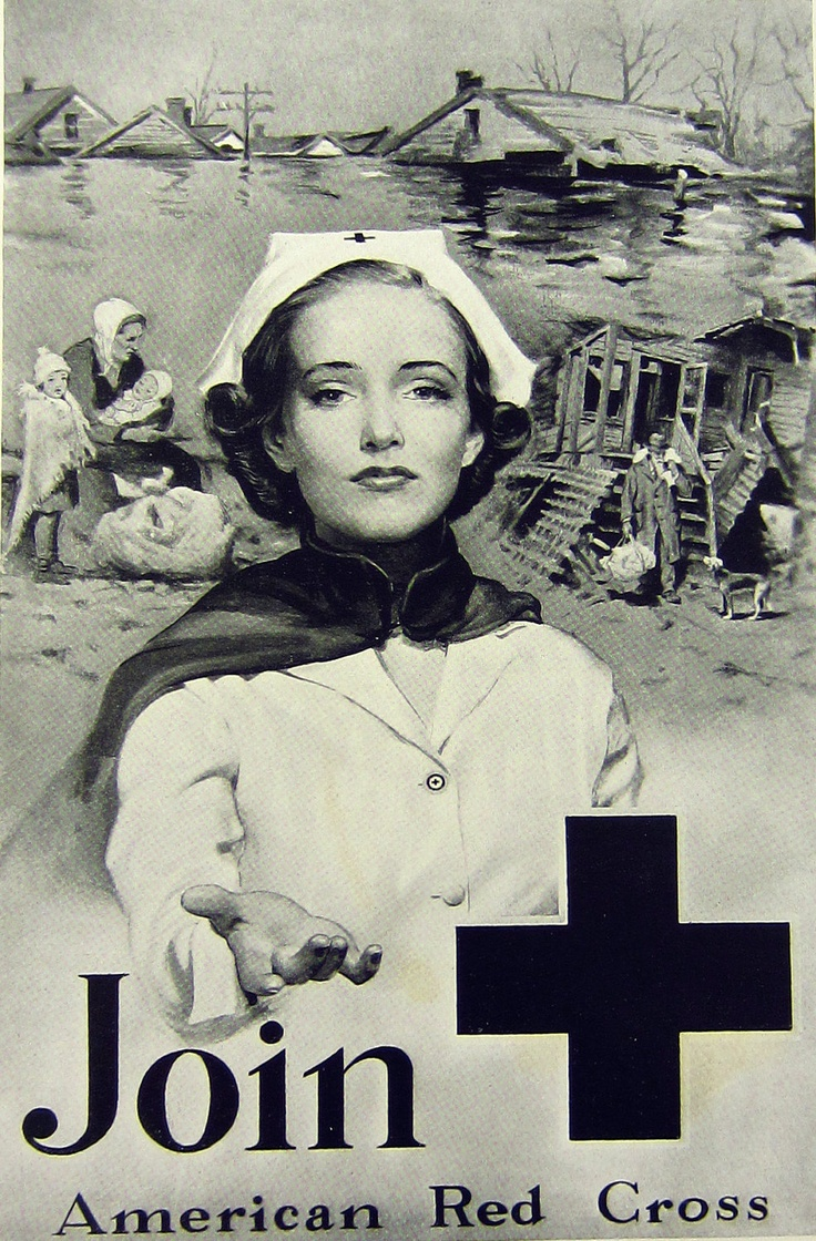 Join the American Red Cross - 1930s Ad