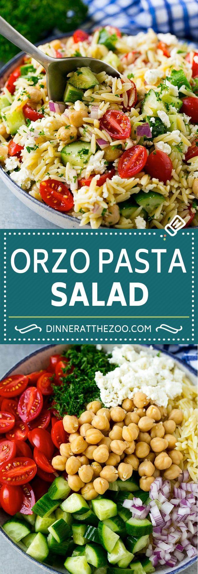 Gerstensalat Rezept | Nudelsalat aus Gerste | Griechischer Gerstensalat | Mediterrane Salzgerste …
