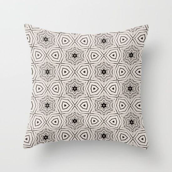 Throw Pillow made from 100% spun polyester poplin fabric, a stylish statement that will liven up any room. Individually cut and sewn by hand, each pillow features a double-sided print and is finished with a concealed zipper for ease of care.  Sold with or without faux down pillow insert. By Shu | Formanuova