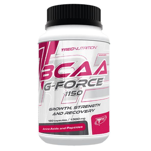 BCAA G-FORCE 1150: Innowacyjny matrix BCAA i L-Glutaminy   Innowacyjny matrix BCAA i L-Glutaminy Kompleksowe wspomaganie dla mięśni Wysoka koncentracja aminokwasów