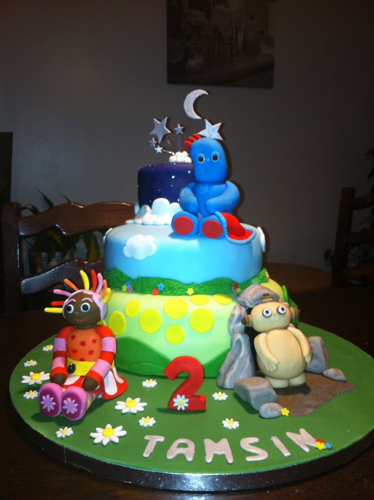 37 best images about in the night garden cakes on pinterest for In the night garden cakes designs
