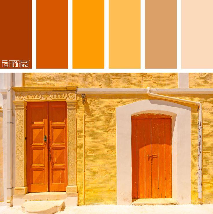 25 best ideas about burnt orange paint on pinterest - Burnt orange color scheme ...
