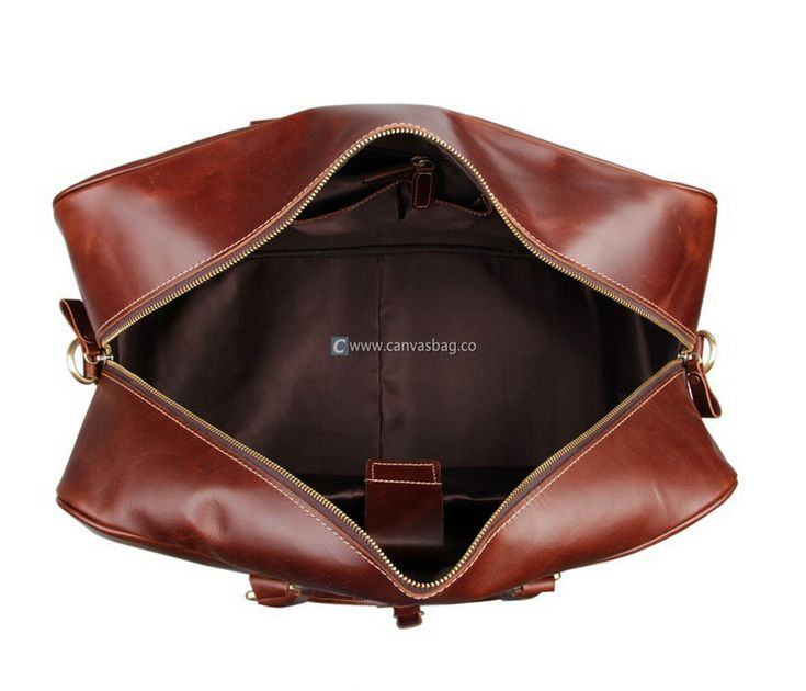 Extra Large Luggage Leather Luggage Bag Travel Luggage