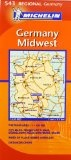 Michelin Map Germany Midwest 543 (Maps/Regional (Michelin)) - http://www.learnjourney.com/travel-europe-discount-resources-books-guides-free-shipping/travel-germany-discount-resources-books-guides-free-shipping/michelin-map-germany-midwest-543-mapsregional-michelin/