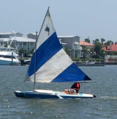 1974 14' Dolphin Sail Boat ...Sail Boats, 1974 14, Dolphins Sailing, Sailing Boats