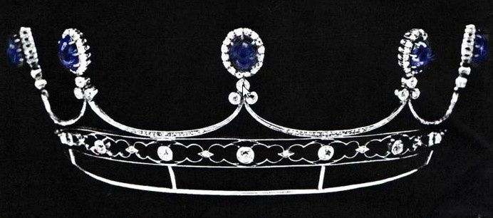 22 best images about Tiaras: Sapphire on Pinterest ...
