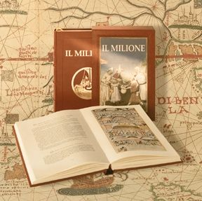 Marco Polo has written a book called Il Milione. In this book he wrote about the countries he has visited.