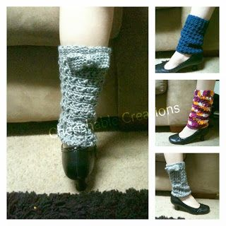 Cherishable Creations: FREE PATTERN - Cross Bow Legwarmers