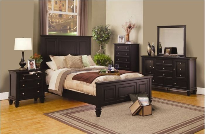Coaster Furniture - Sandy Beach Queen Panel Bed in Cappuccino - 201991Q